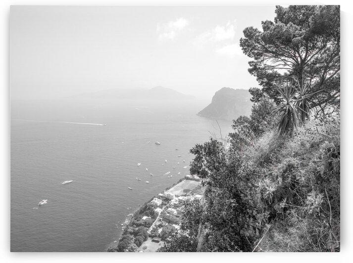 Gulf Of Naples, Capri, Italy by Assaf Frank