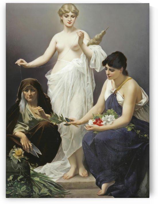 The Three Fates by Friedrich Paul Thumann