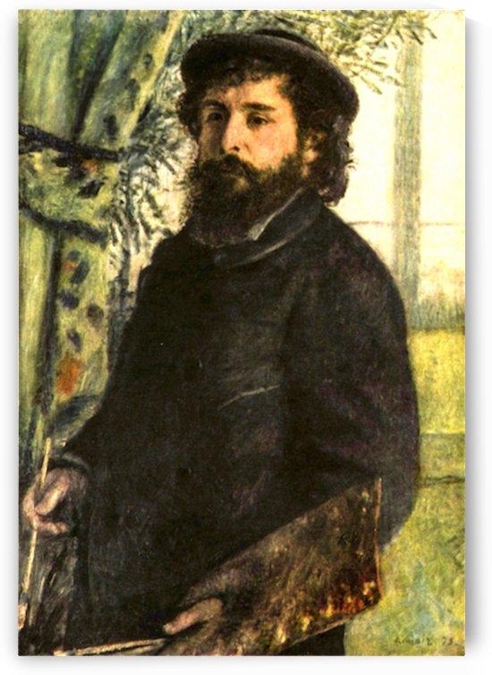 Portrait of the painter Claude Monet by