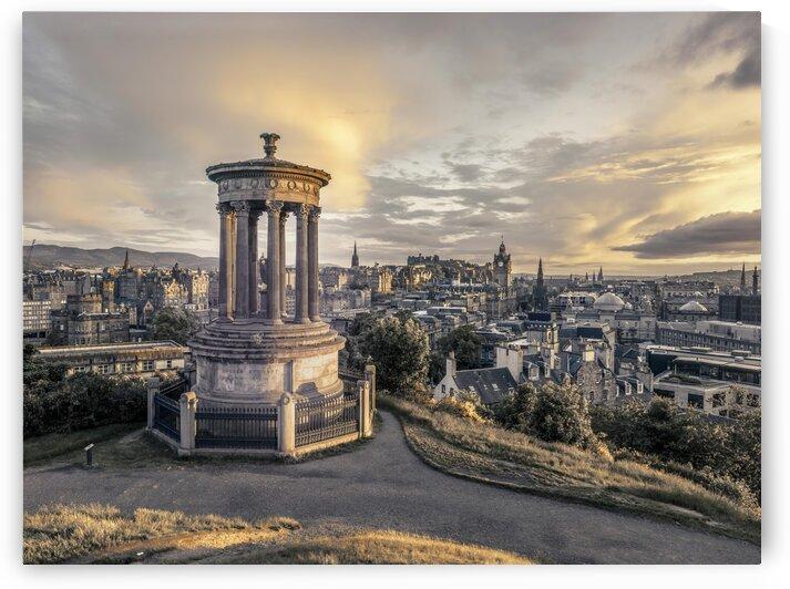 A view from Carlton Hill, Edinburgh, Scotland by Assaf Frank