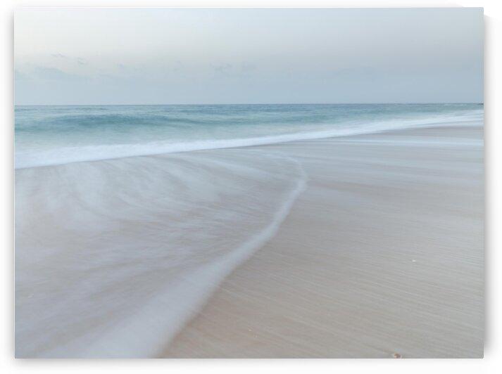 Surf approaching the beach by Assaf Frank