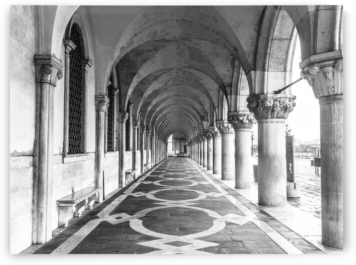 Doge's Palace archway in Venice, Italy by Assaf Frank