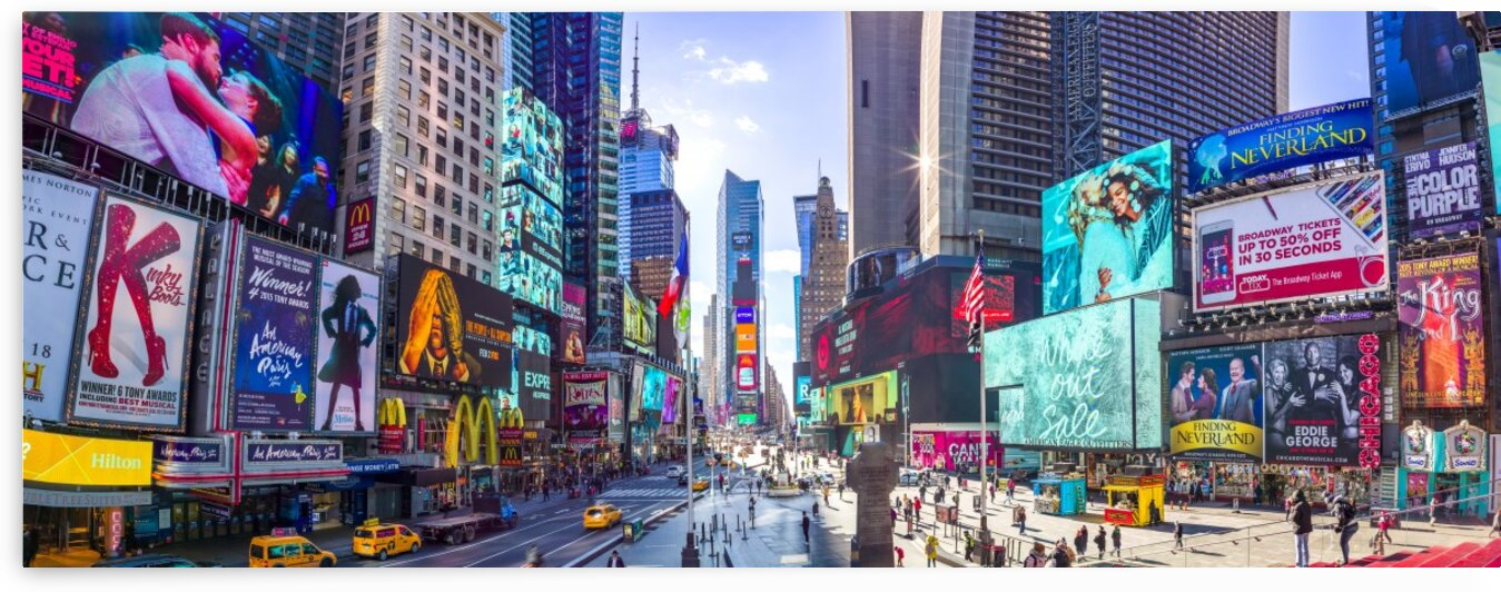 Times Square, New York City by Assaf Frank