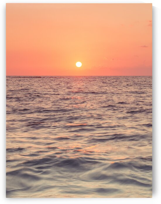 Sunset on the beach by Assaf Frank