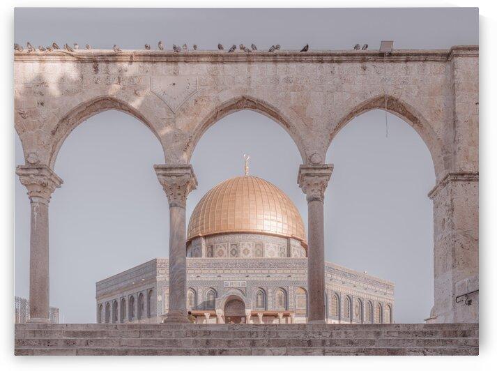Al-Aqsa Mosque, Jerusalem, Israel by Assaf Frank