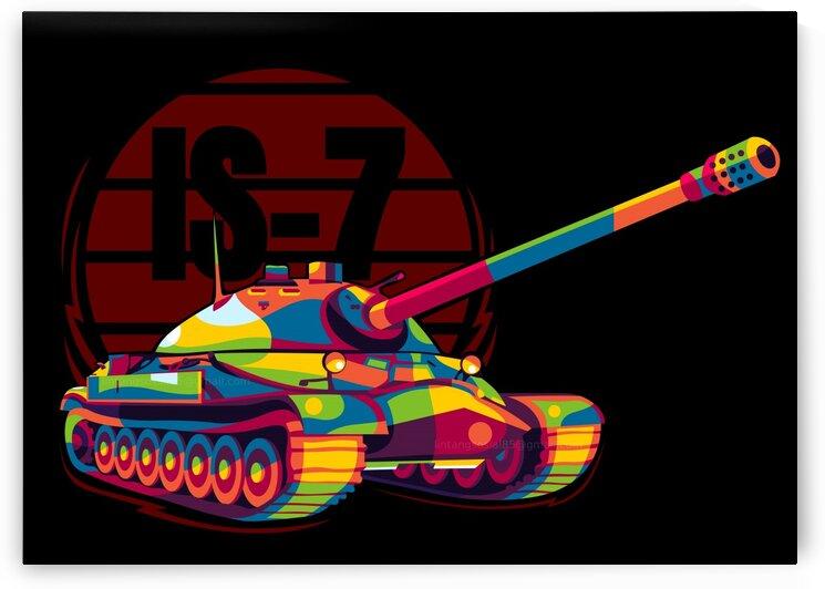 IS-7 Soviet Heavy Tank by wpaprint