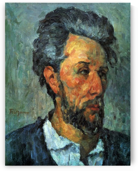 Portrait of Victor Chocquet by Cezanne by Cezanne