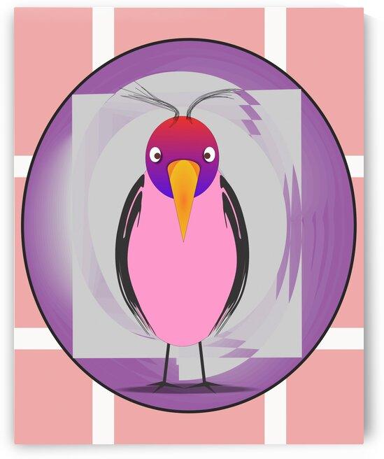 Oiseau Bird 9 by Createm
