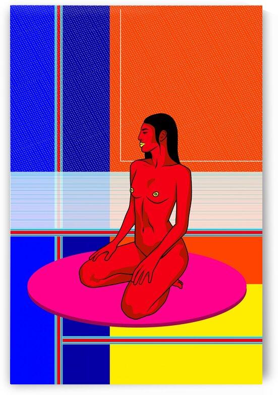 CALM AF by Naked Prints