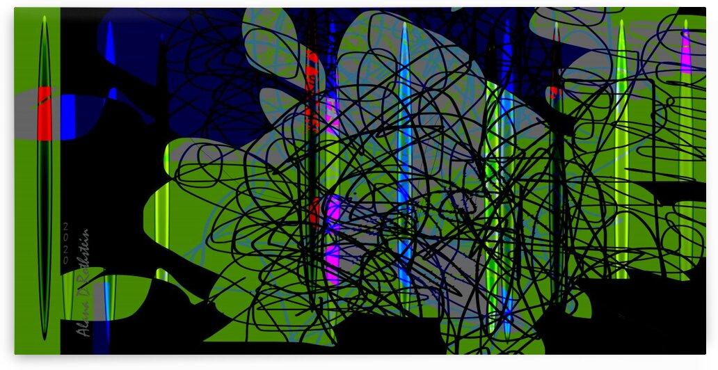 HorizonGreenBlack by Alana Rothstein