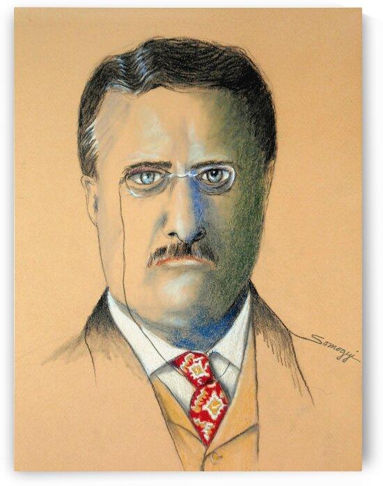Teddy Roosevelt by Jayne Somogy
