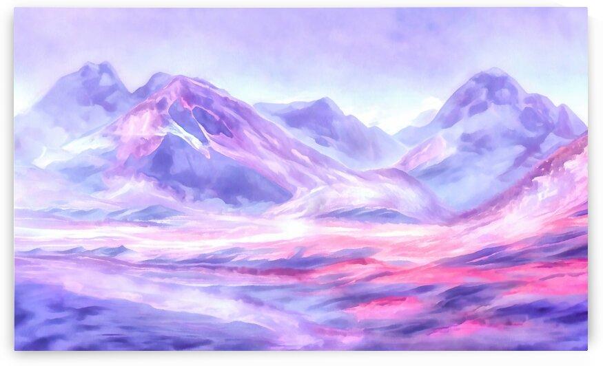 Mount Fairweather Canada by Steven Sandner