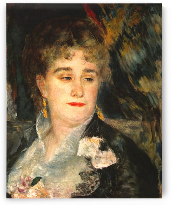 Portraits of Mme Charpentier by Renoir by Renoir
