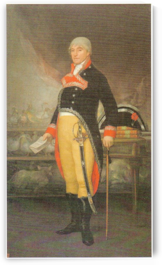 Portrait_du_naturaliste_Felix_de_Azara_1805 by Goya by Goya