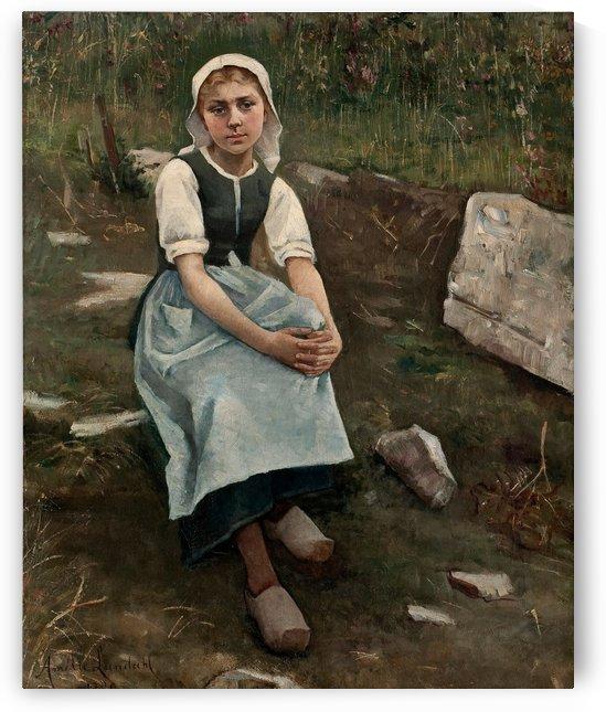 Breton Girl by Amelie Helga Lundahl