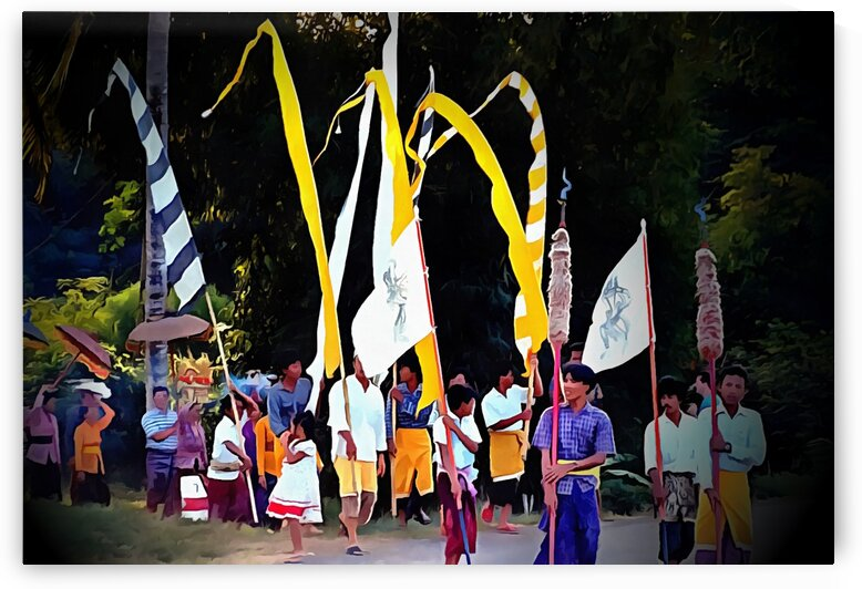 Festival Procession Bali by Dorothy Berry-Lound