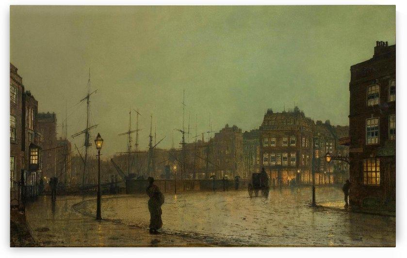 Greenock, 1881 by John Atkinson Grimshaw