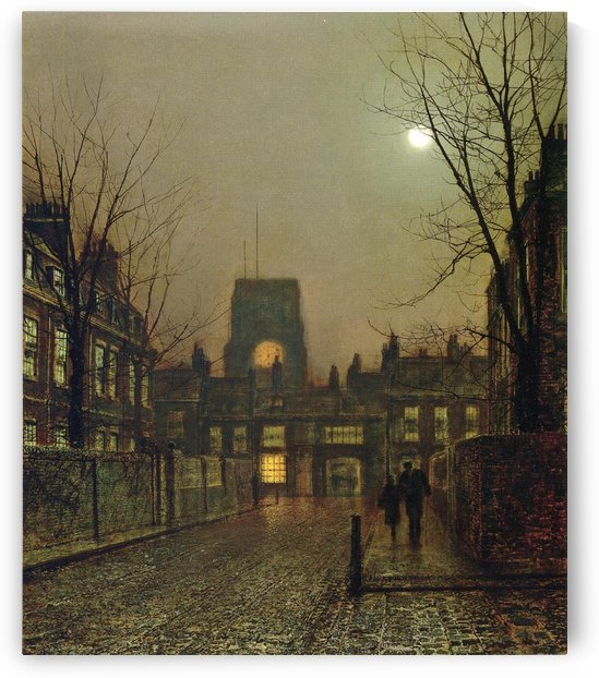 Old Chelsea by John Atkinson Grimshaw