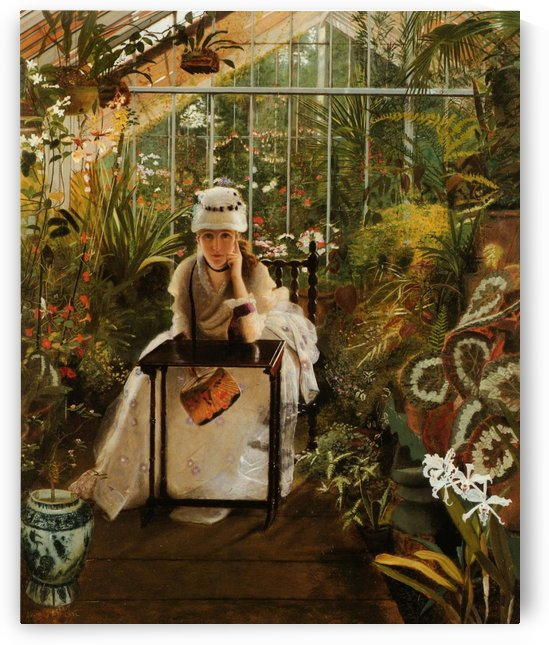 Il Penseroso by John Atkinson Grimshaw