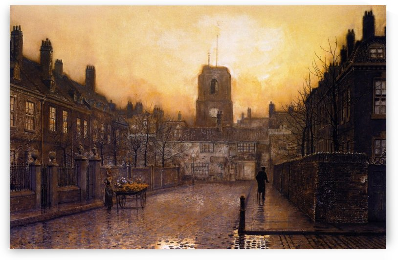 An Idyll of Old Chelsea by John Atkinson Grimshaw