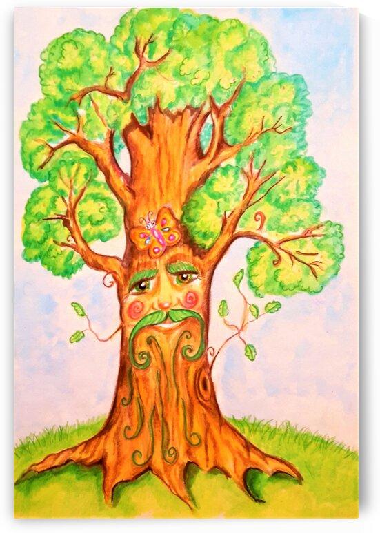The big sage tree by Ivan Venerucci Italian Style
