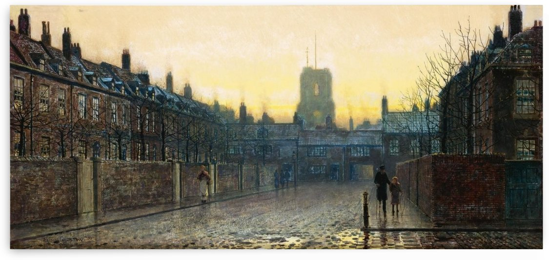 Side streets of Chelsea by John Atkinson Grimshaw
