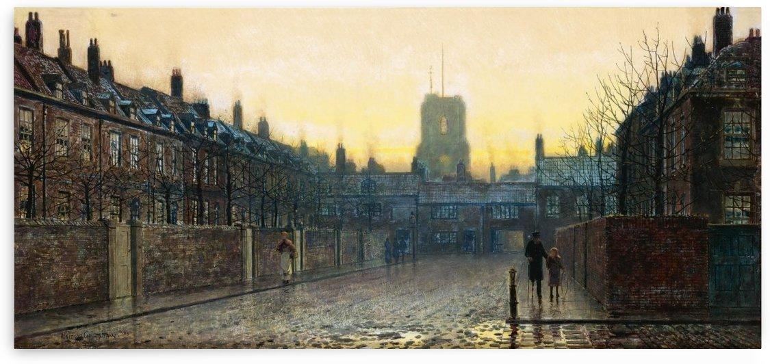 Side streets of Chelsea by John Atkinson Grimshaw