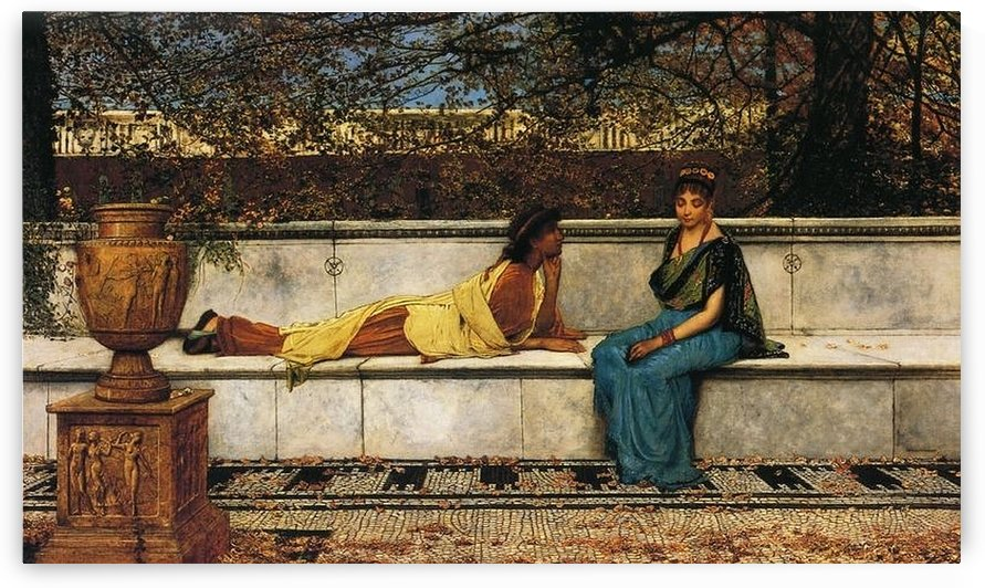 Two Thousand Years Ago by John Atkinson Grimshaw