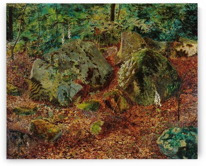 A Mossy Glen by John Atkinson Grimshaw
