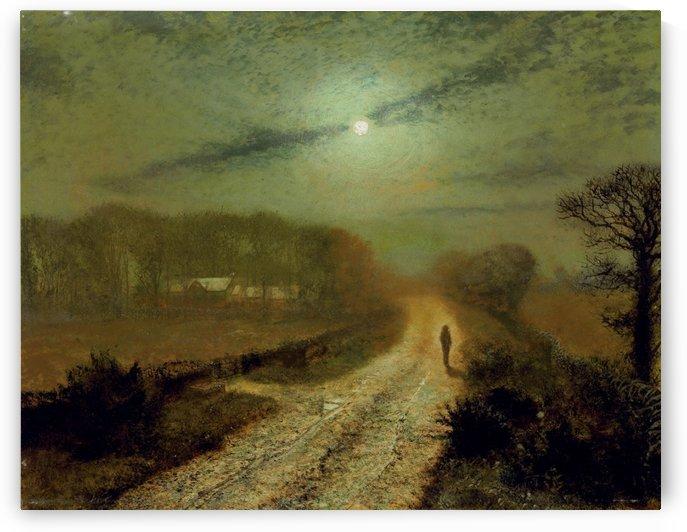 Moonlit Landscape by John Atkinson Grimshaw