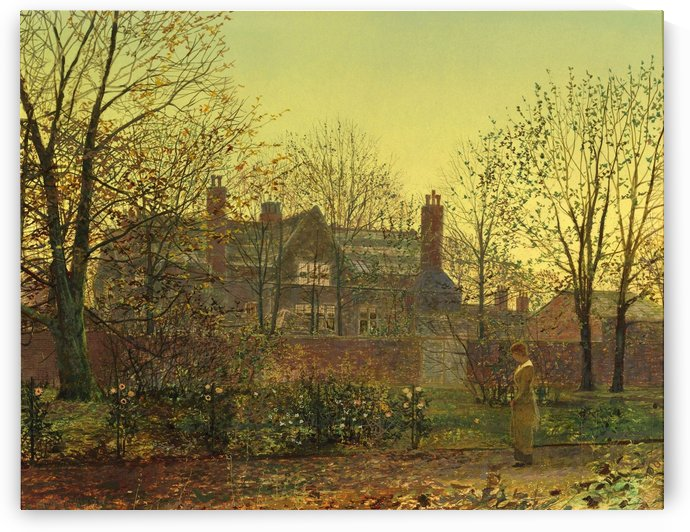 Golden Twilight by John Atkinson Grimshaw