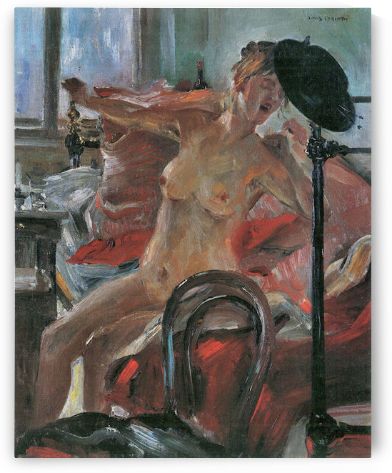 Morning by Lovis Corinth by Lovis Corinth