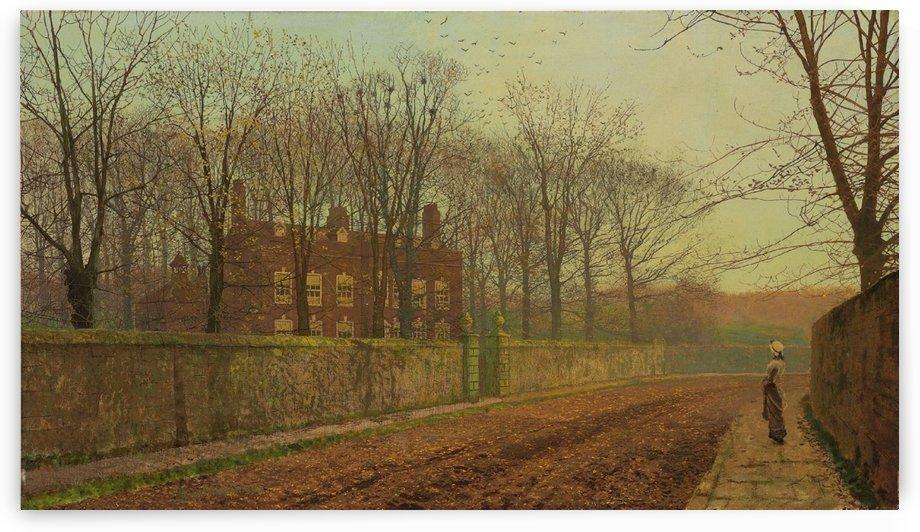 Leeds by John Atkinson Grimshaw