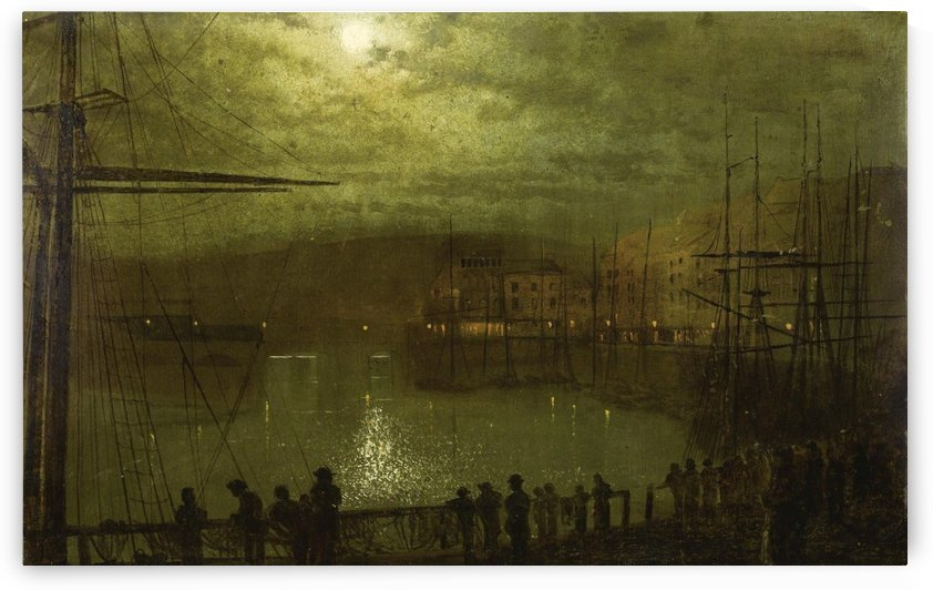 View of Whitby by John Atkinson Grimshaw
