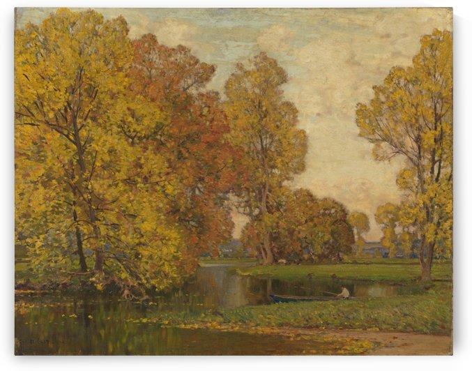 Golden Autumn by John Atkinson Grimshaw