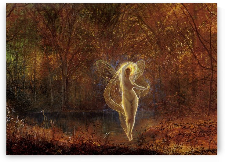 Dame Autumn has a mournful face by John Atkinson Grimshaw