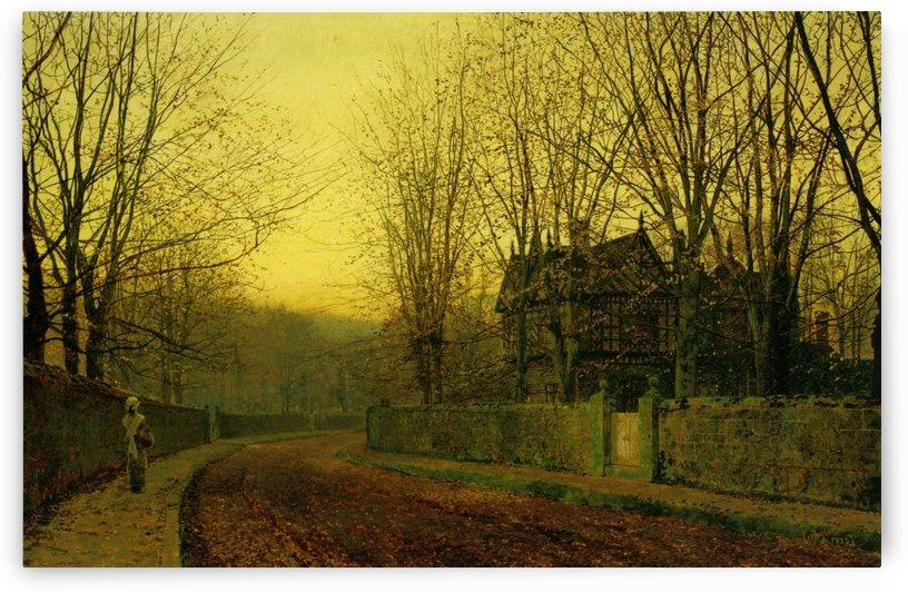 The Last Gleam by John Atkinson Grimshaw