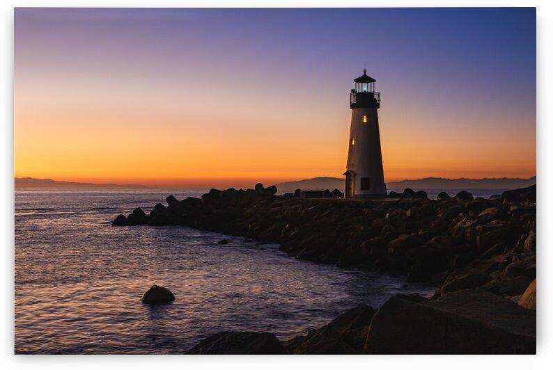 Walton Lighthouse Santa Cruz by Gary Geddes