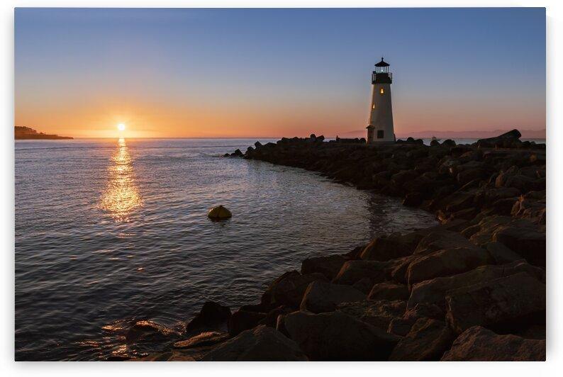 Walto Lighthouse at Sunrise by Gary Geddes