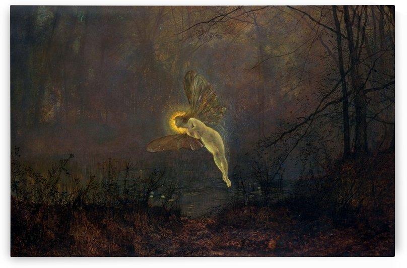 Midsummer Night by John Atkinson Grimshaw