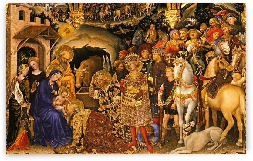 Leonardo da Vinci: Adoration of the Magi - HD 300ppi  by Stock Photography