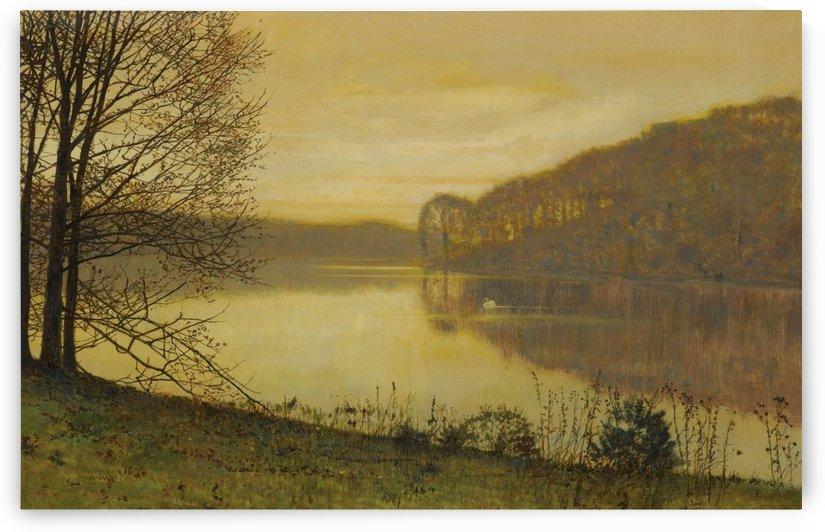 Roundhay Lake, Leeds, 1893 by John Atkinson Grimshaw