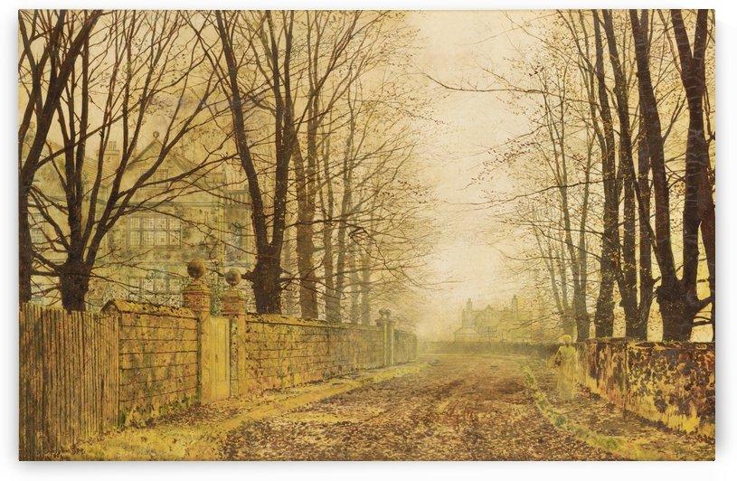 Golden Eve by John Atkinson Grimshaw