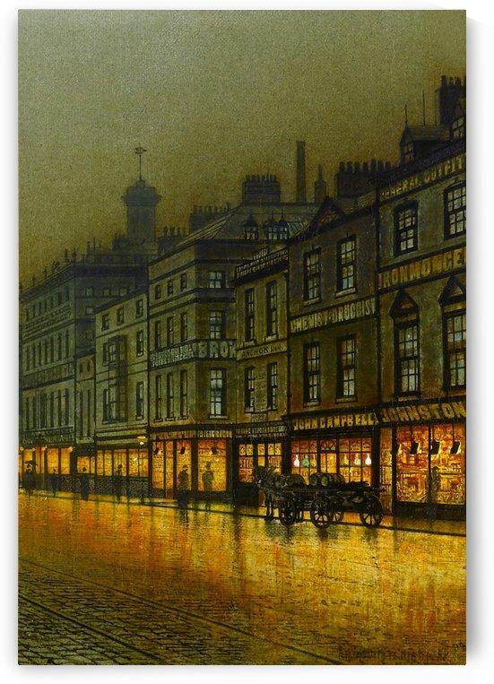 Greenock Harbour at Night, 1893 by John Atkinson Grimshaw