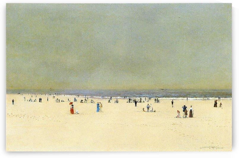 A Summer Fantasy by John Atkinson Grimshaw