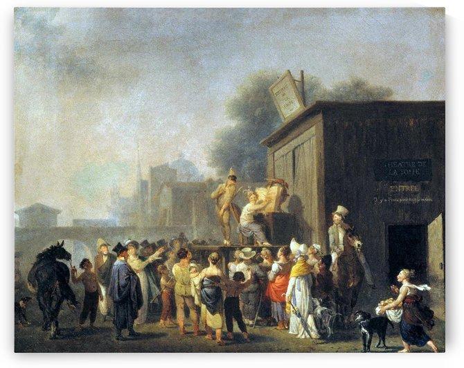 O Teatro da Loucura by Nicolas Antoine Taunay