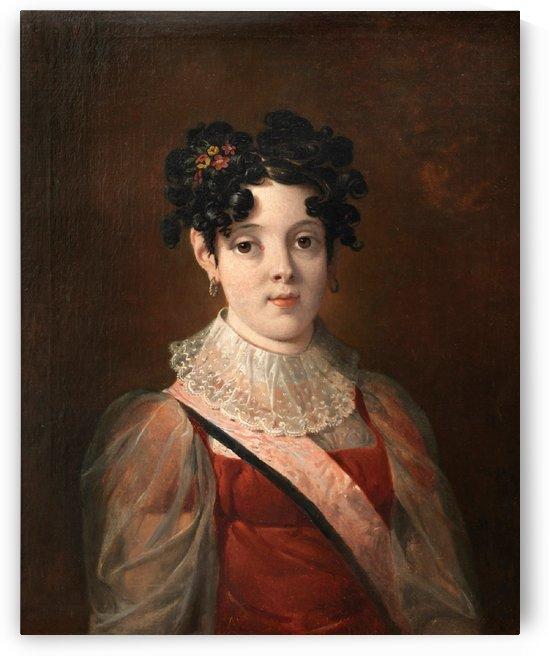 Dona Maria da Asuncao de Braganca by Nicolas Antoine Taunay