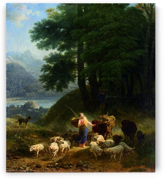 Pastora by Nicolas Antoine Taunay