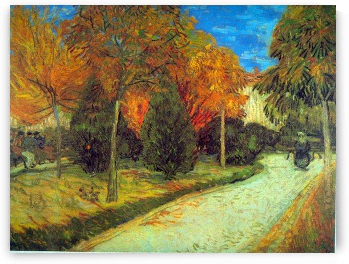 Public Park by Van Gogh by Van Gogh