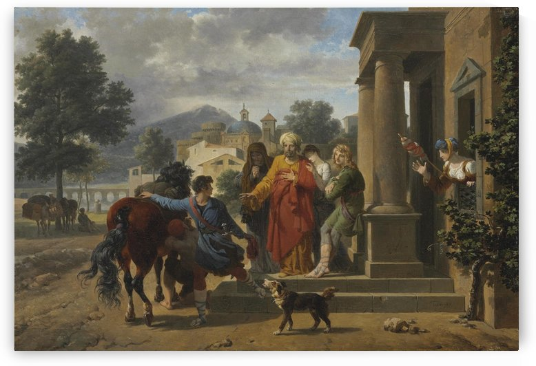 The Departure of the Prodigal Son by Nicolas Antoine Taunay